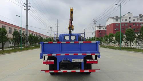 江淮骏铃V5国五随车吊(配3.2吨吊机)
