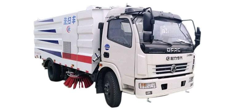 东风多利卡洗扫车