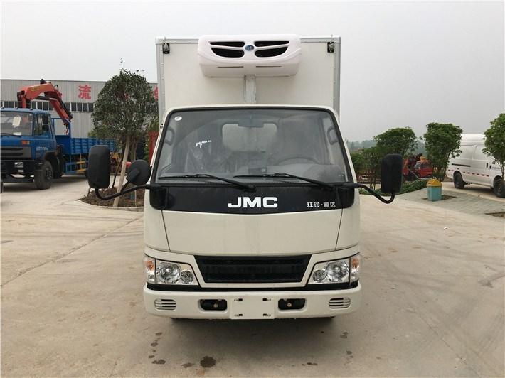 江铃顺达国五厢长4.15米冷藏车(上蓝牌)图片