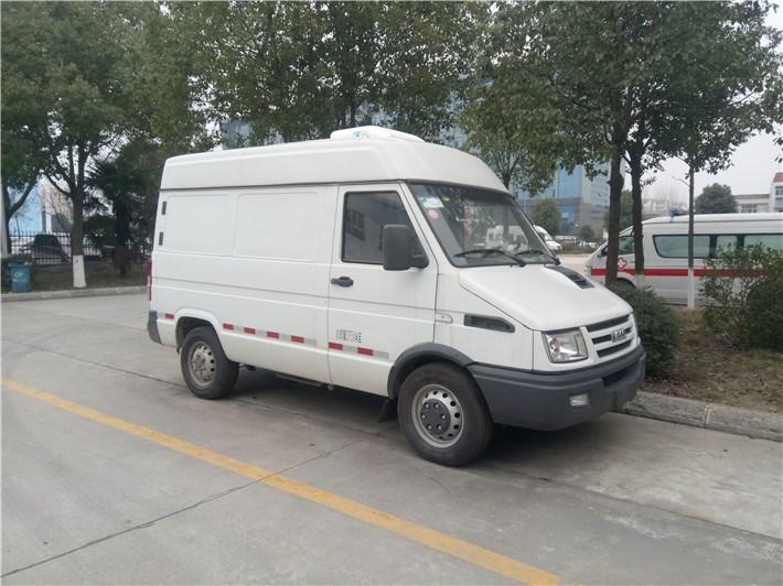 南京依维柯国五面包冷藏车(市区通行)