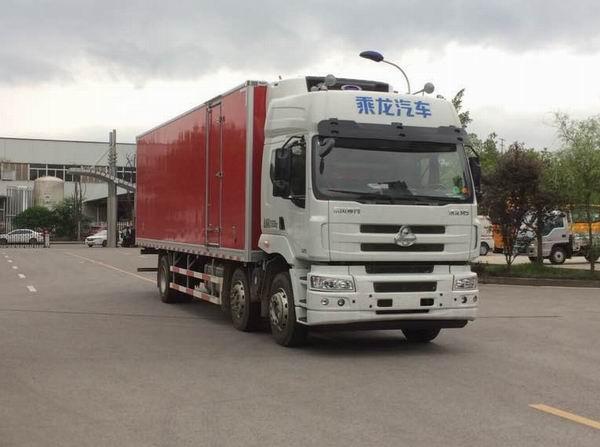 东风柳汽乘龙小三轴厢长9.4米冷藏车