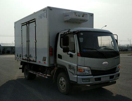 开瑞微卡厢长4.1米冷藏车