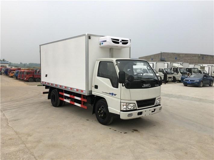 江铃顺达国五厢长4.15米冷藏车(上蓝牌)