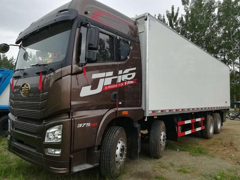 解放J6M四桥国五厢长9.2/9.48/9.6米冷藏车