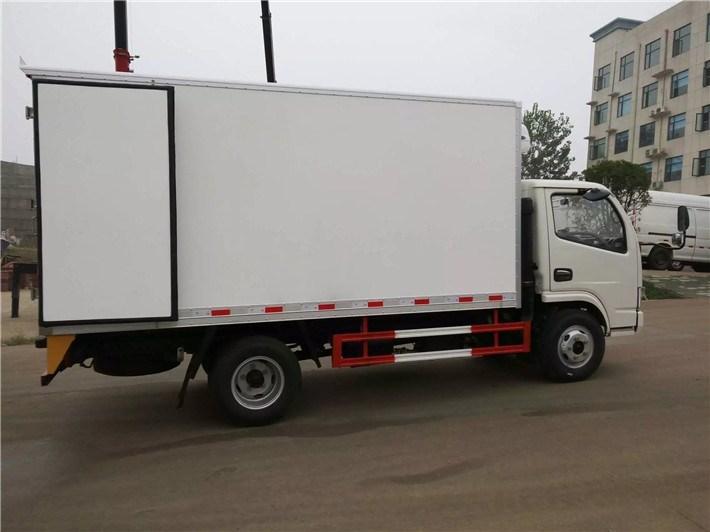东风小多利卡厢长4米国五冷藏车图片