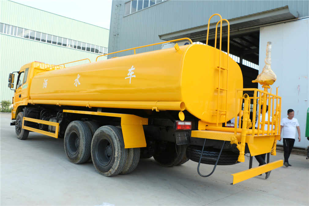 东风特商20吨洒水车图片