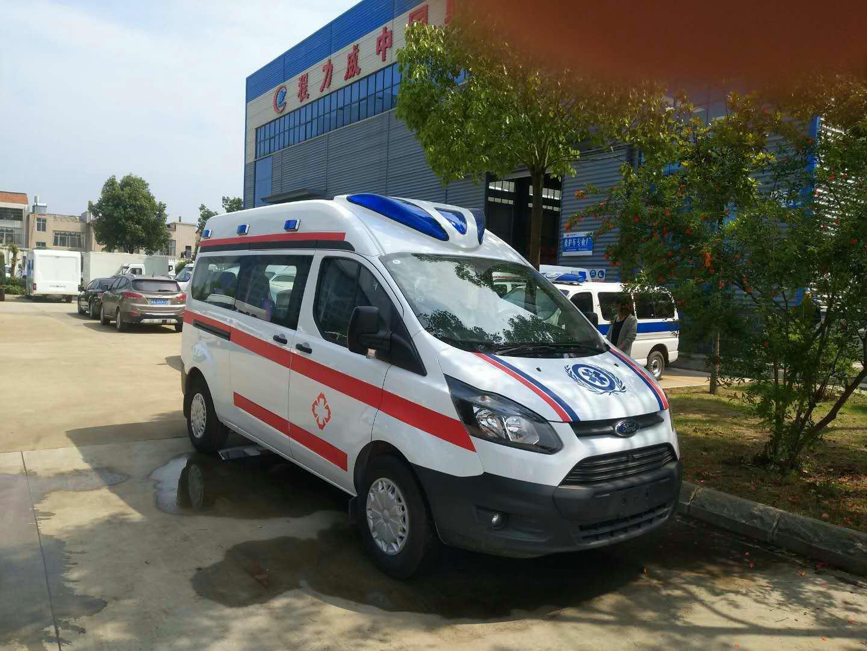福特新全顺V362长轴监护型救护车轴距3300mm