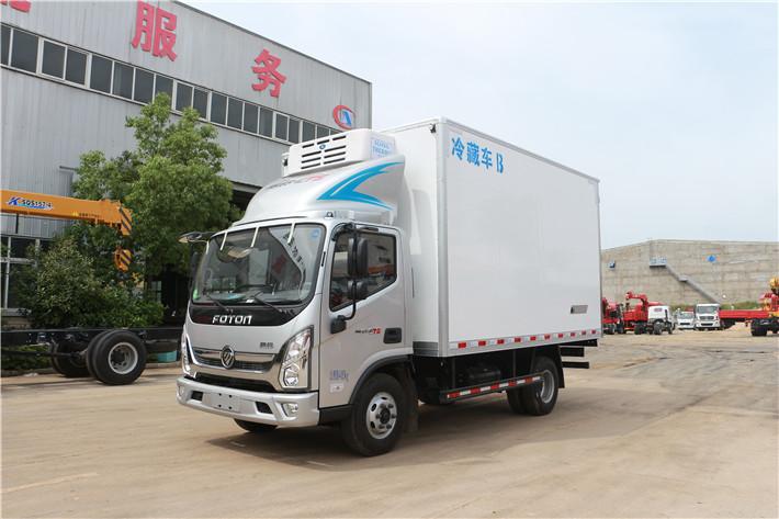 福田奧鈴4.1米冷藏車(DPF版)