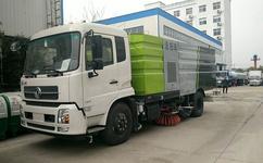 东风天锦16方洗扫车销售案例