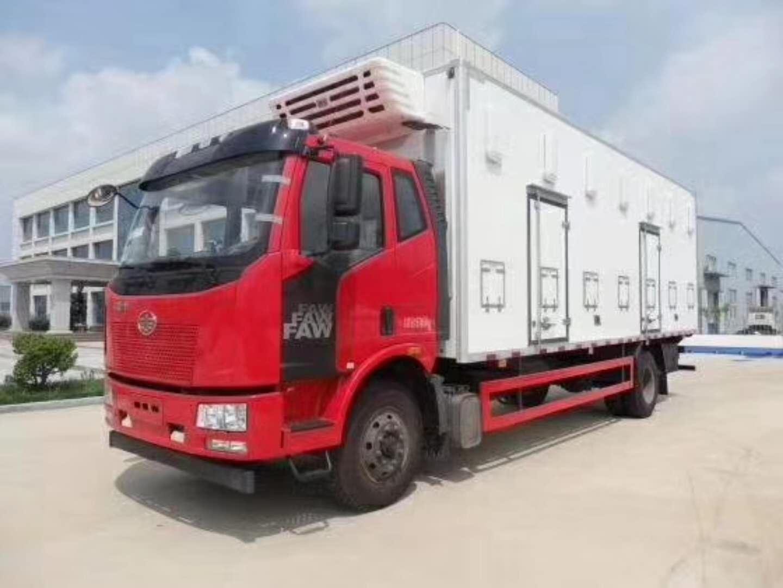 解放放J6單橋冷藏車