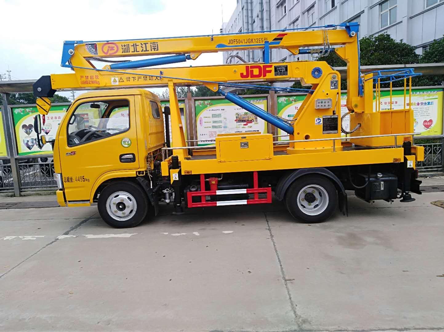 东风12米单排高空作业车1