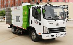 东风多利卡5方吸尘车让我们的环境更洁净但是冬天车尿素上冻怎么办