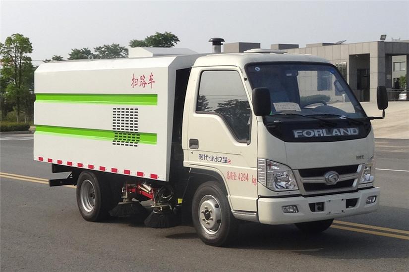 福田小卡之星3吨扫路车