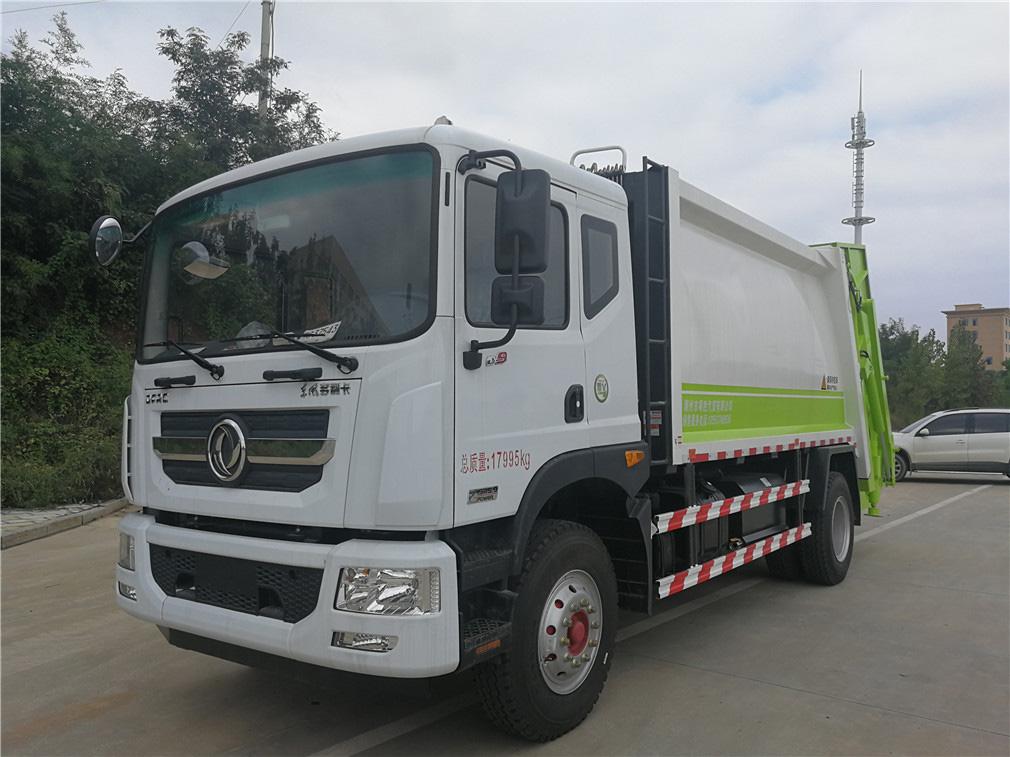 东风多利卡10吨压缩式垃圾车