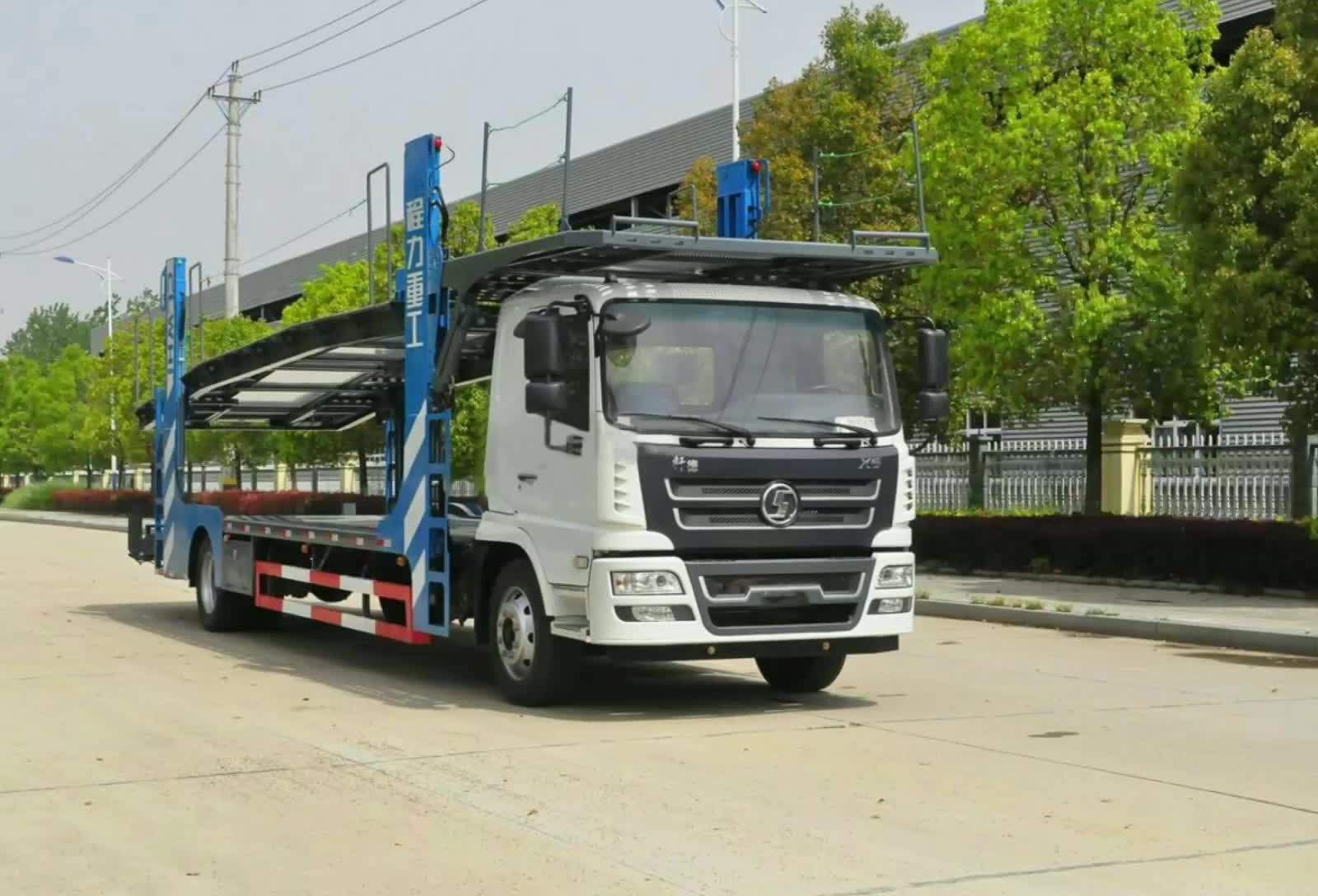 陕汽X6单桥轿运车