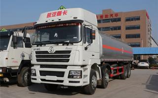陕汽德龙(34方)铝合金运油车图片