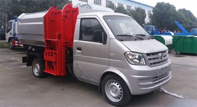 东风小康3方挂桶式垃圾车(汽油)图片
