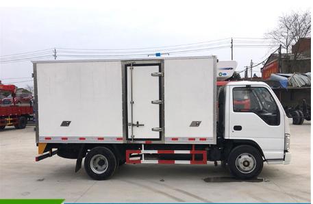 福田驭菱2.6米小型冷藏车图片