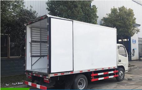 东风4.2米冷藏车