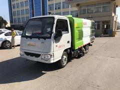 公司新品小型江淮吸塵車