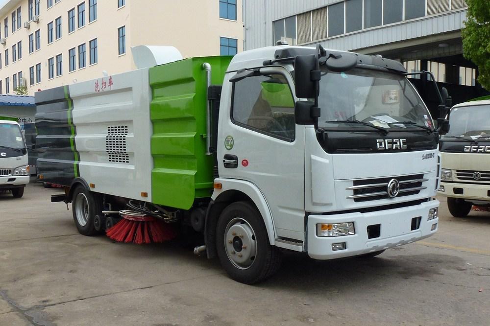 東風多利卡洗掃車  (4方塵/4方水)