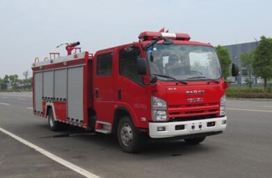 庆铃3吨泡沫消防车