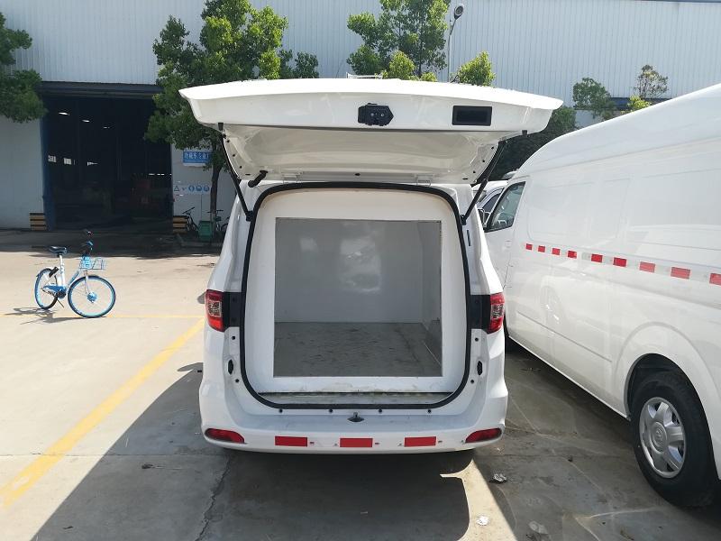 福田伽途ix5面包式冷藏车