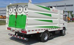 东风多利卡5方吸尘车动力源外部护理的七点操作方式