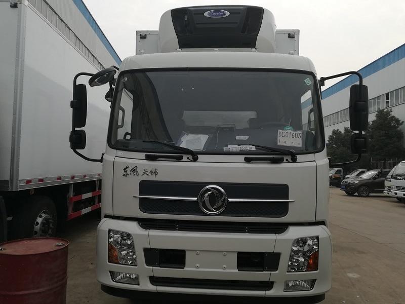 东风天锦单桥国五厢长6.1/6.55/7.4/7.8米冷藏车