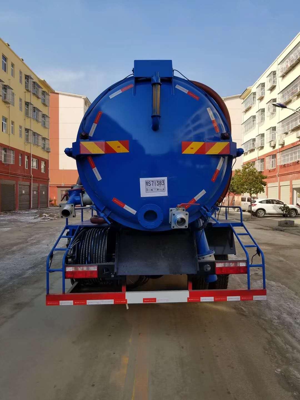12吨东风D9吸污车图片