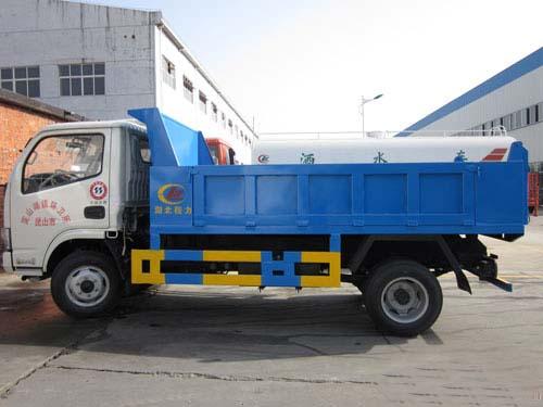 东风多利卡5方自卸式垃圾车