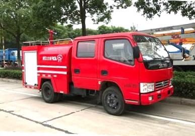东风1.5吨双排消防洒水车