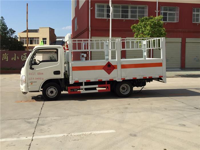 国五跃进小福星3米5气瓶运输车