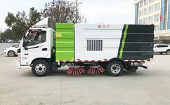 福田欧马可5吨扫路车液压油如何使用及更换保养