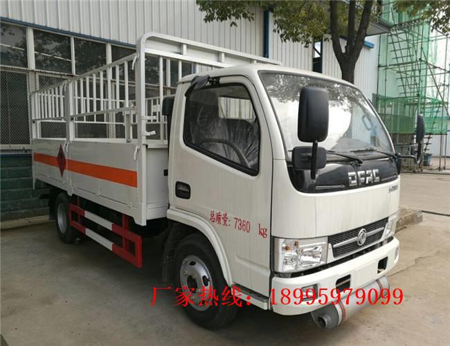 东风多利卡4吨气瓶运输车
