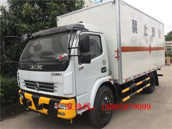 春風多利卡6.7噸易燃氣體廂式運輸車