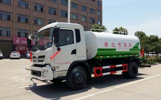 超便宜的东风创普12吨洒水抑尘车图片