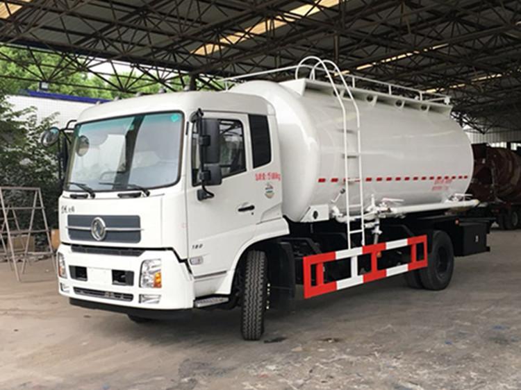 散装水泥车的6个主要组成部分及作用简介