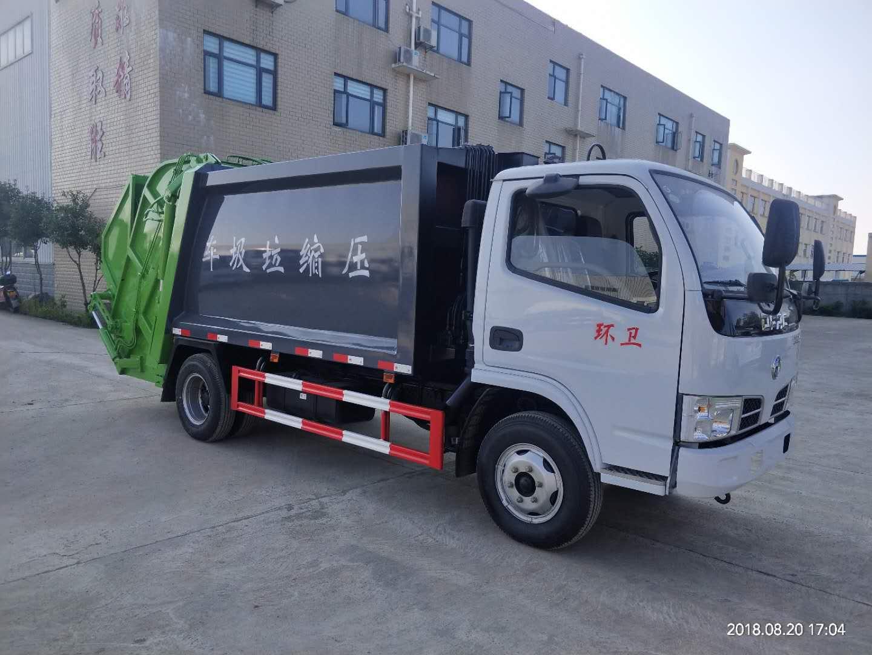 东风国五压缩垃圾车(4-5方)
