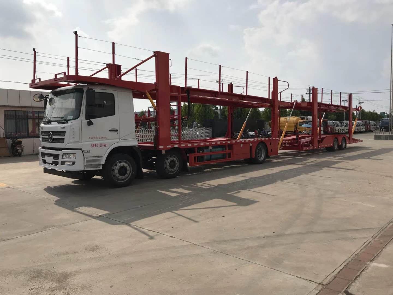 HRX5210TCLS5中置轴车辆运输车图片