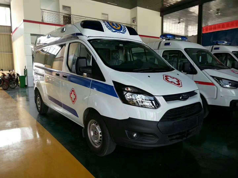 新全顺V362短轴运输型柴油版救护车