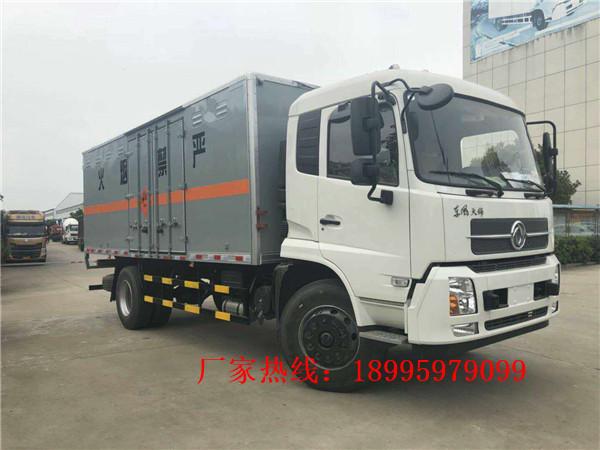 东风天锦10吨杂项危险物品厢式运输车