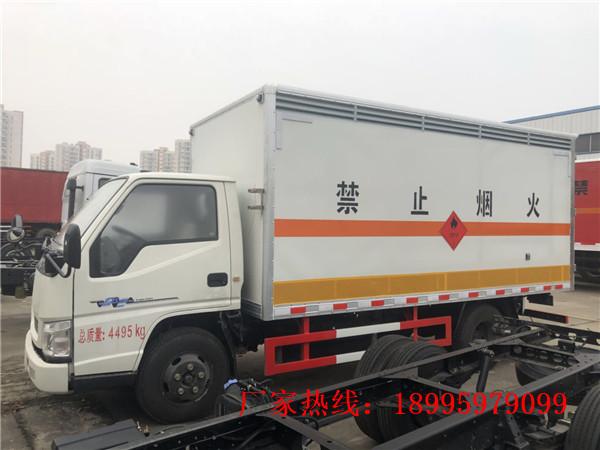 江鈴新順達1.4噸藍牌毒性和沾染性物品廂式運輸車