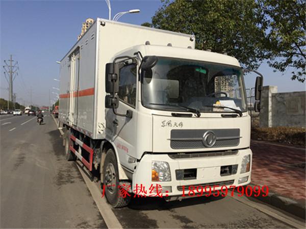 东风天锦10吨毒性和感染性物品厢式运输车