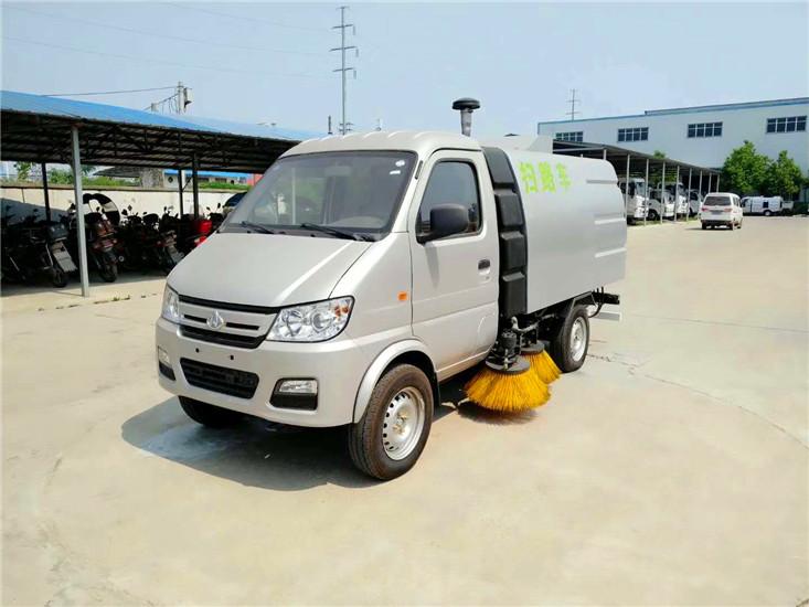 小长安3吨扫路车 小型扫路车价格仅售12.8万