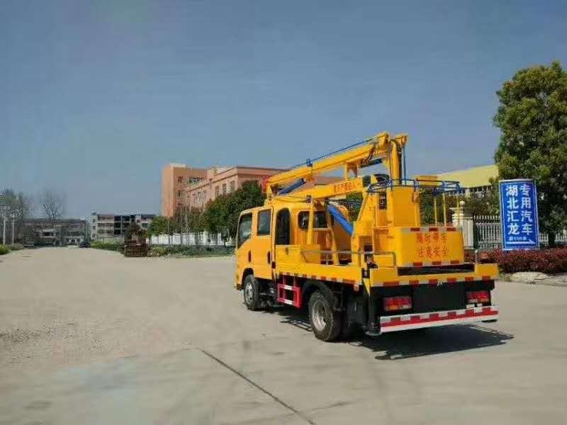 大运双排 12米高空作业车