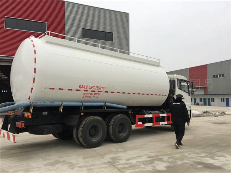 东风天龙27.3方散装水泥车