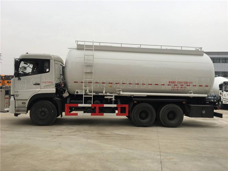 东风天龙27方散装水泥车 干混砂浆车
