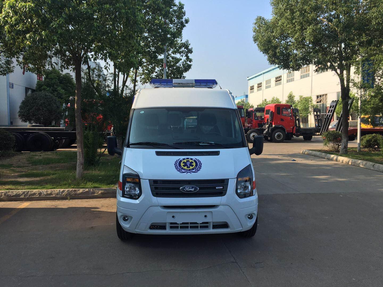福特新世代V348长轴中顶运输型救护车