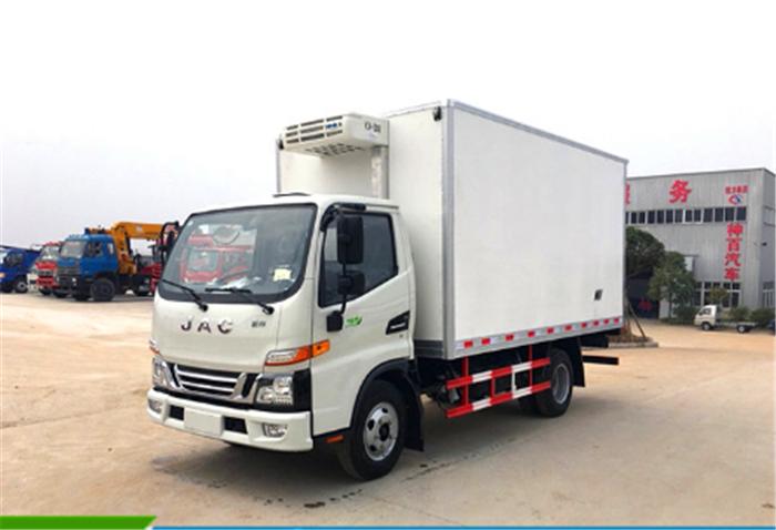 4.2米江淮骏铃V5冷藏车